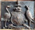 1901Arms JohnYarde-Buller 2ndBaronChurston ChurstonFerrersChurch Devon.PNG