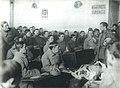 1922. Группа сотрудников милиции на занятиях по судебной медицине. Петроград.jpg