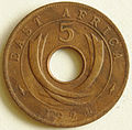 1924 East African 5 cent coin reverse.jpg