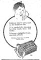 1924 Lifebuoy soap ad Canada.png