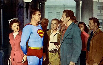 Superman and the Mole Men - Superman and the Mole Men was the first theatrical feature film based on any DC Comics character.
