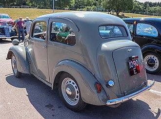 Ford Anglia - Rear
