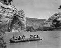 1953 Sierra Club Green River Canyon Trip. Sierra Club members in inflatable pontoon boatraft just below the junction of the (0ea3ebe3cbf4490389c265b66486da69).jpg