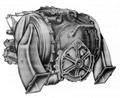 1963 A831 Chrysler engine rear.png