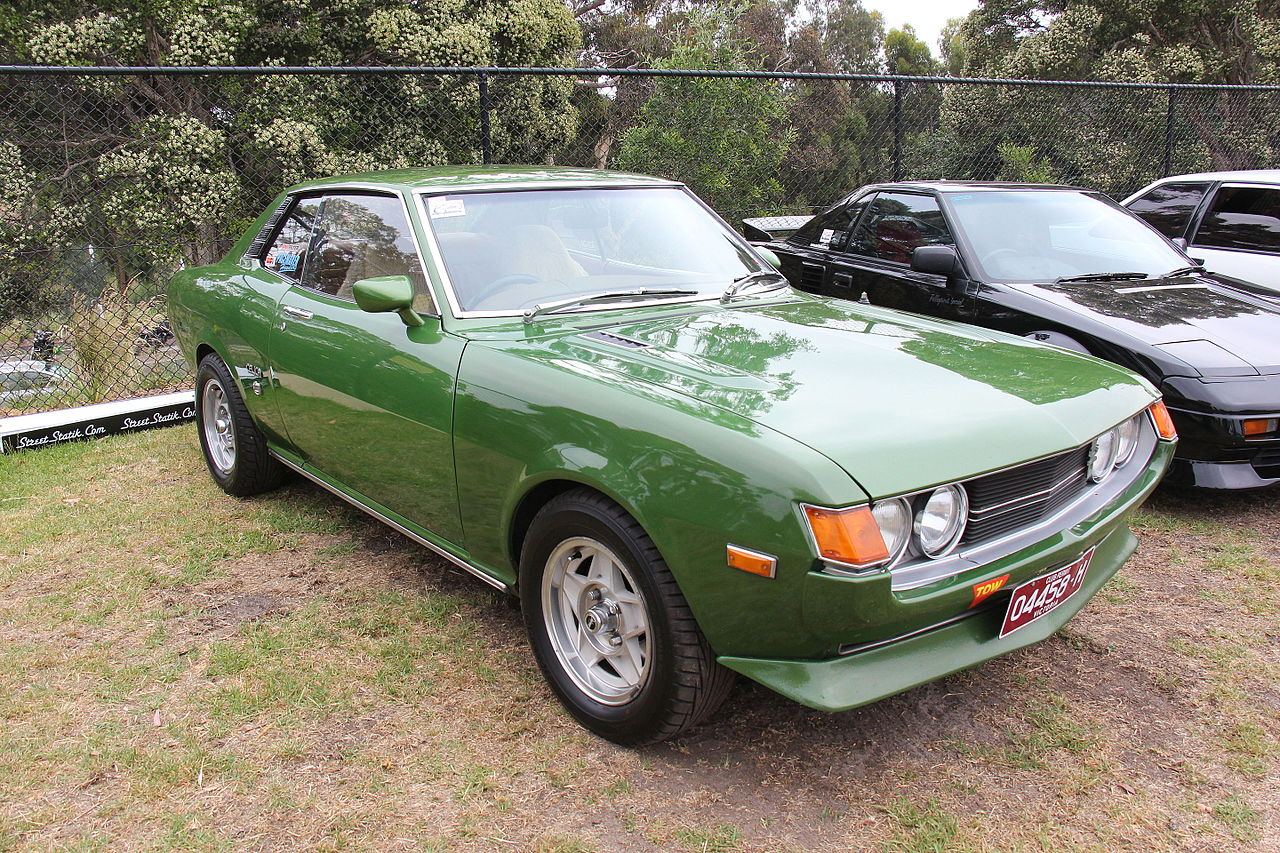 Toyota Celica 2016 >> File:1975 Toyota Celica A20 GT Coupe (23464906570).jpg - Wikimedia Commons