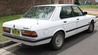 BMW 5 Series - E28 rear