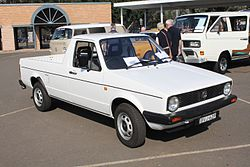 1988 Volkswagen Caddy (Type 148) utility (27473741605).jpg