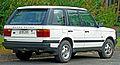 1995-1998 Land Rover Range Rover (P38A) 4.6 HSE wagon (2011-04-02) 02.jpg