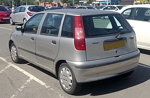 Fiat Punto - Fiat Punto (five door)