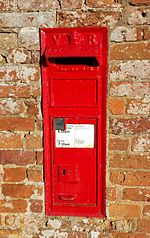 19th-century postbox, Warwickshire.jpg