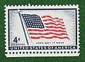 1st US Flag Issue 1957-4c.jpg