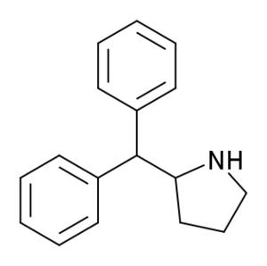 2-Diphenylmethylpyrrolidine - Image: 2 Diphenylmethylpyrrol idine