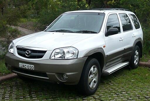2001-2004 Mazda Tribute Classic V6 wagon (2007-12-12)