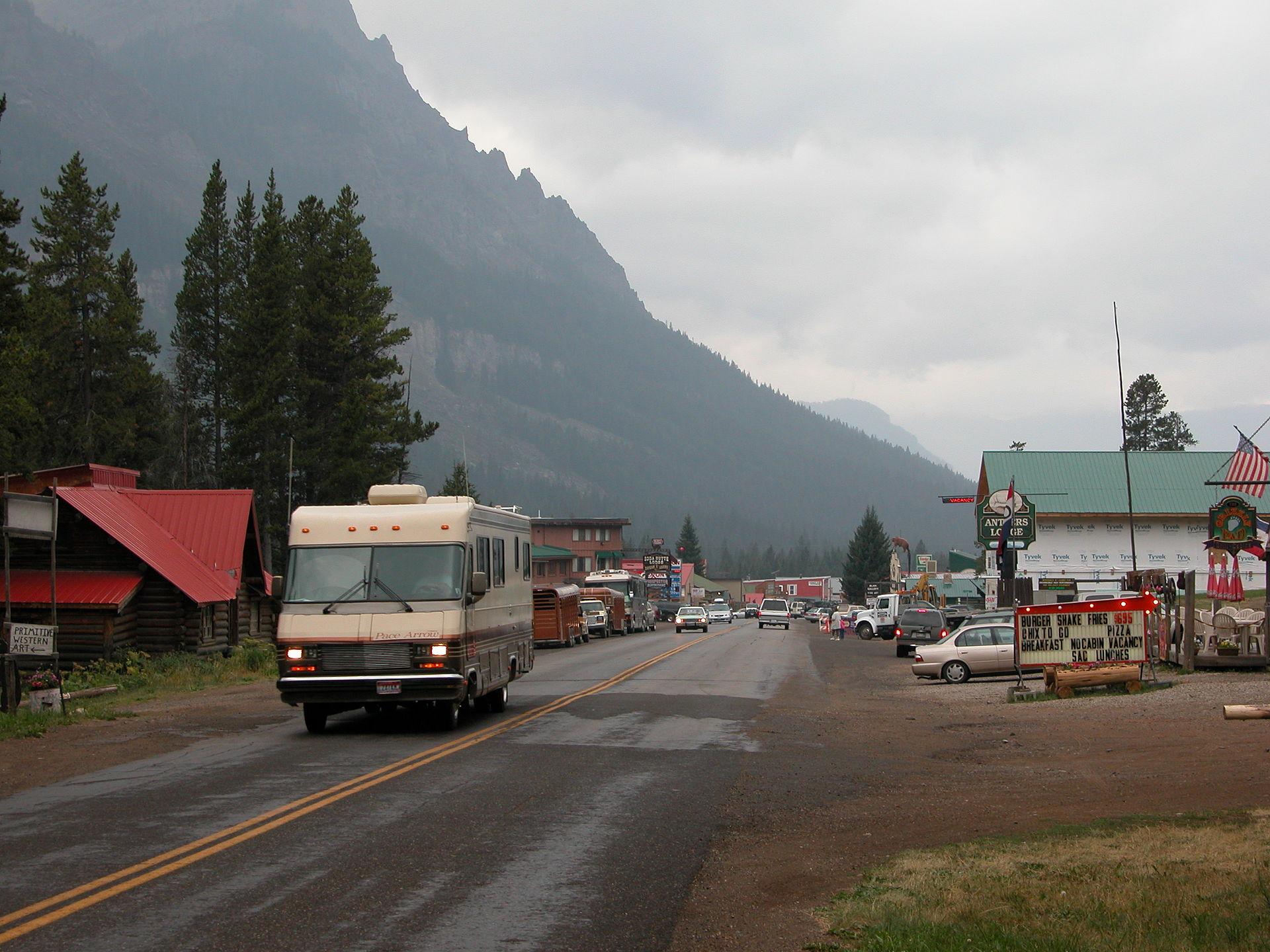 Silver Mountain Water Park >> Cooke City-Silver Gate, Montana - Wikipedia