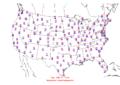 2006-02-02 Max-min Temperature Map NOAA.png