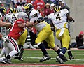 20081122 Brandon Minor eluding James Laurinaitis.jpg