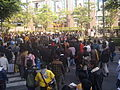 2008 Taipei IT Month Day9 Shifu Road with crowded visitors.jpg