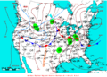 2009-04-30 Surface Weather Map NOAA.png