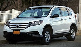 2012 Honda CR-V front left, low spec.jpg