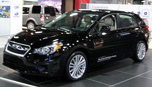 2012 Subaru Impreza hatch -- 2012 DC front.JPG