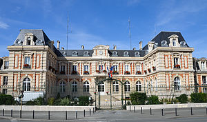 Haute-Marne - Prefecture building of the Haute-Marne department, in Chaumont