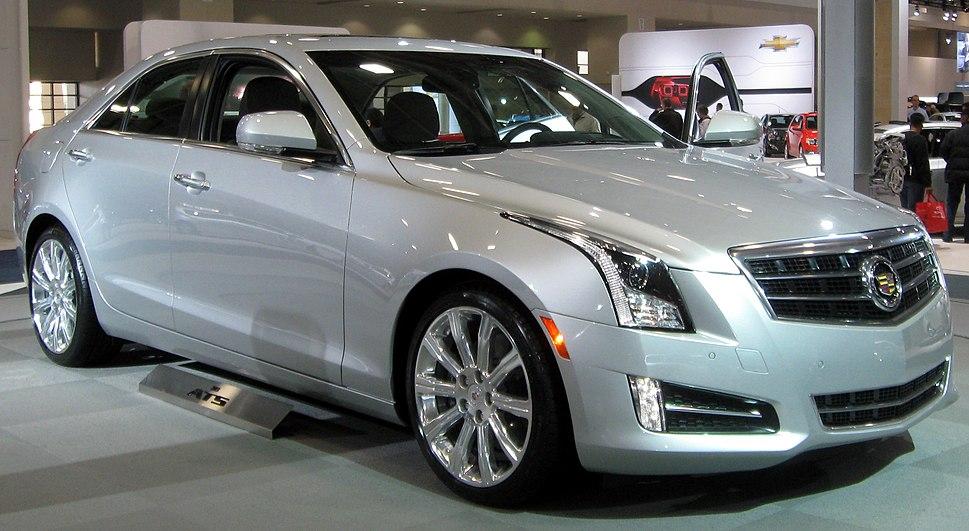 2013 Cadillac ATS -- 2012 DC