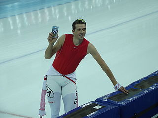 Denis Yuskov Russian speed skater
