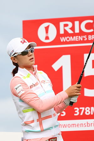 Choi Na-yeon - Choi at the 2013 Women's British Open