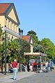 2014-06-06 Hannover, Opening 5. KunstFestSpiele Herrenhausen, (005) Raindance, Klanginstallation von Paul DeMarinis.jpg