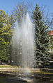 2014 Polanica-Zdrój, fontanna w parku zdrojowym 01.jpg