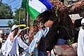 2015 Fremont Solstice parade - Sasquatch and Cascadia 04 (18695755263).jpg