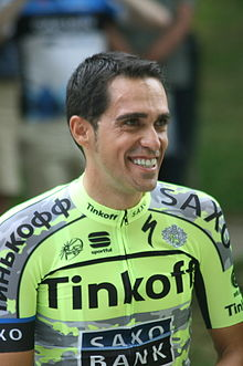 Alberto Contador - the talented, tough,  cyclist  with Spanish roots in 2018