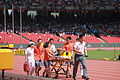 2015 World Championships in Athletics – an injury.JPG