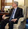 2016 March 22 Senator Bob Casey and Merrick Garland 02 (cropped to Garland).jpg