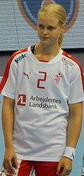 2016 Women's Junior World Handball Championship - Group A - MNE vs DEN - Pauline Bøgelund.jpg