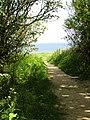 2018-06-13 Norfolk coast path, Trimingham (2).JPG