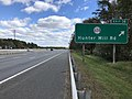 2018-10-24 12 08 05 View east along Virginia State Route 267 (Dulles Toll Road) at Exit 14 (Virginia State Route 674-Hunter Mill Road) in Reston, Fairfax County, Virginia.jpg
