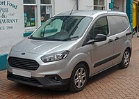 2018 Ford Transit Courier Trend facelift 1.5 Front.jpg
