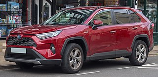 Toyota RAV4 Compact crossover SUV manufactured by Toyota