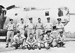 21 Squadron RAAF Liberator aircrew Fenton NT Mar 1945 AWM NWA0727.jpg