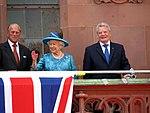25.Jun.2015 Queen Elizabeth II. and Prince Philip's visit to Frankfurt (18966273739).jpg