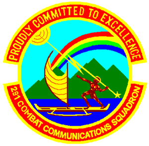 291st Combat Communications Squadron - Image: 291st Combat Communications Squadron