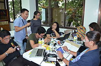 2nd Waray Wikipedia Edit-a-thon 19.JPG