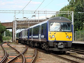 Great Eastern Main Line - Image: 360108 at Marks Tey