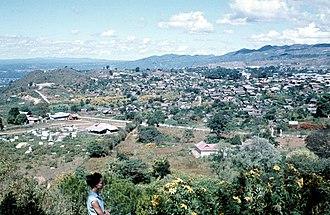 Taunggyi - Taunggyi city in 1961