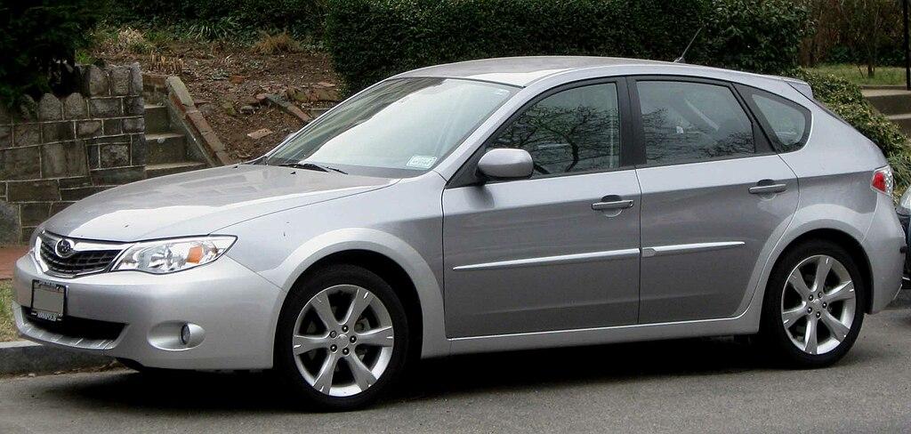 3rd Subaru Impreza Outback Sport