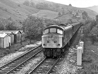 British Rail Class 46 - Image: 46045 Walsden