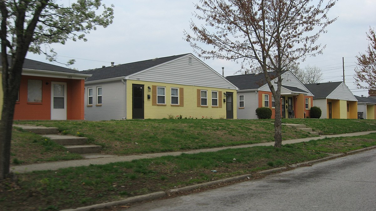 Flanner house homes wikipedia for House builders in indiana