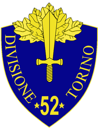52nd Infantry Division Torino - 52nd Infantry Division Torino Insignia