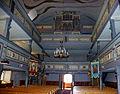 611858 Niwica kościół par. p.w. Św. Trójcy, XVI, 1 poł. XX wnętrze.JPG